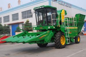 China Self-propelled Corn Combine Harvester on sale
