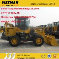 SDLG  small front loaders  LG918 with quick coupler GP bucket, mini loader, small agricultural tractor for sale
