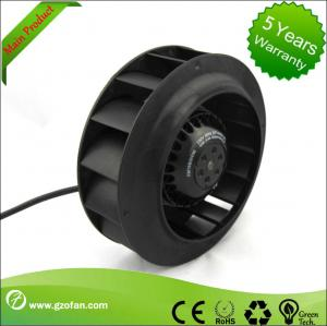 China AC Centrifugal Fan Blower , Compact Industrial Ventilation Fans With External Rotor Motor on sale