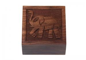 China Handmade Vintage Dark Color Mysterious Style Personalized Wooden Gift Boxes With Reliefs on sale