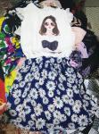 Lady Silk Dress Wholesale Used Clothng