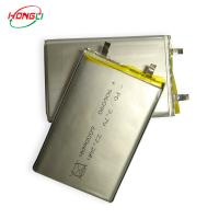 China 3.7v 6000mah Lithium Polymer Battery , Lithium Ion Rechargeable Battery 06090 22.2wh on sale