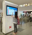 Multi Language Interactive Wayfinding Kiosk / Self Service Terminal CE Approved