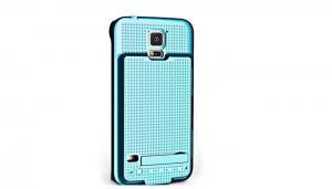 China Blue 3500mah Rechargeable Battery Case Power Bank  For Samsung Galaxy S5 on sale