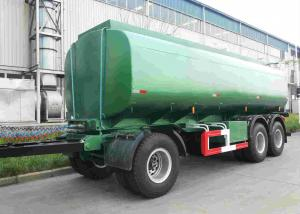 China 42000 Oil Tank Trailer / Fuel Tanker Semi Trailer With 4 Inch Manhole Cover on sale