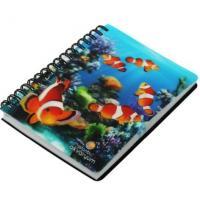 China Custom Small Colorful Heart Shape Spiral Notebook, note pad Matt Lamination on sale
