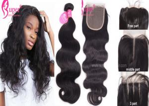 China Body Wave Straight Kinky Curly Mink Hair Extensions 8 -30 Length on sale