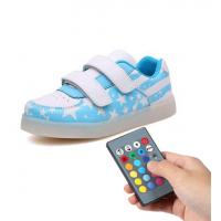 Trainer Simulation Led Shoes , Remote Control Girls Light Up Sneakers