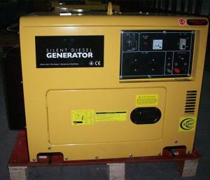China 2016 new products   6kw silent diesel generator  single phase factory price on sale
