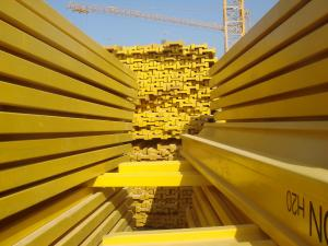 China High Strength H20 Slab Beam Formwork with steel prop for concrete wall formwork on sale