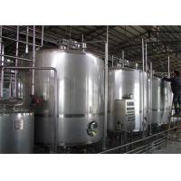Complete Fresh Dairy Yogurt Processing Line Processing Machine High Capacity