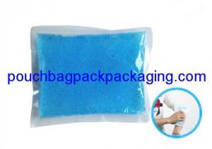 China Custom Reusable Gel Ice Pack, Cooler Bag Accessory, food grade, 18x14 cm on sale