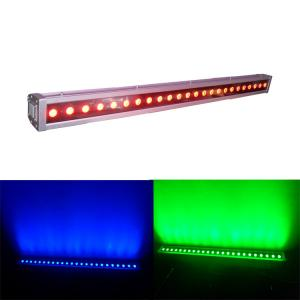China Ip65 Waterproof 24x4w Rgbw 4in1 Led Wall Wash Light For Disco Dmx512 on sale