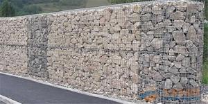 China Bridge Protection Welded Wire Gabions , Hot Dipped Galvanized Wire Mesh Security Cage on sale