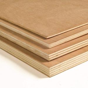 China MDF made in China plain mdf board/mdf sheet on sale