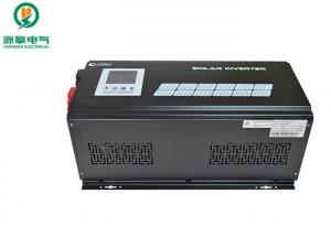 China Single Phase Solar Inverter Charge Controller Portable Three Times Peak Power on sale