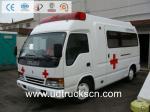 Camión/vehículo de rescate/ambulancia de la clínica móvil de ISUZU