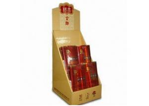 China Custom Made Cardboard Cigarette Shelf Displays / Case For Advertising on sale