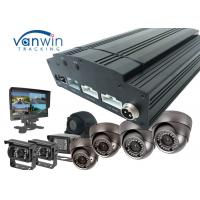 China Standalone 4G video HDD 8CH MDVR / AHD Mobile DVR 720P Car DVR with free CMS software on sale