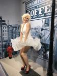 Amusement Park celebrity mannequins, wax figure life size, silicone wax figure