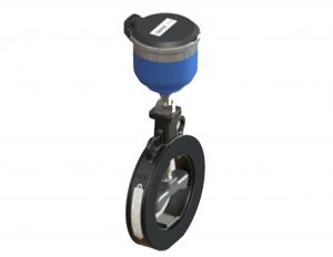 China Wafer Type Ultrasonic Water Meter ISO 4064 Transit Time Carbon Steel Housing on sale