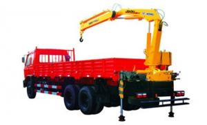 China Durable 4 Ton Knuckle Arm Articulated Boom Crane , Driven By Hydraulic on sale