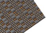 Decorative Metal Facade Mesh , Crimped Type Woven Wire Fabric For Curtain Wall