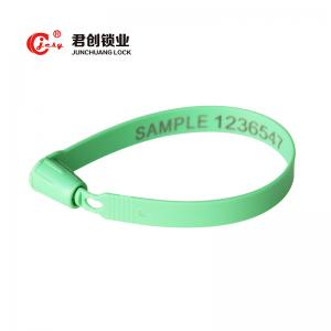 China Logistic Security barcode numbered plastic lead seals from China Supplier on sale