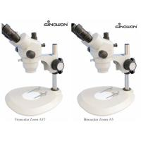 High Accuracy Zoom Stereo Microscope Horizontal Axial Driver Control Knobs