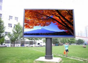 China Outdoor LED Video Walls Fixed Install , Large LED Display Screen High Brightness on sale