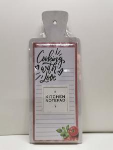 China OEM Design Kitchen Notepad Printing With A Clay Coated News Back For Family on sale