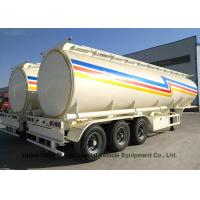 Liquid Flammable Tank Tanker Semi Trailer 3 Axles For Diesel ,Oil , Gasoline, Kerosene 45000LitersTransport