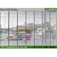 Epistar SMD3528 Transparent Glass LED Display P10 Anti-UV Transparent LED Panel
