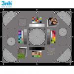 Multi - Functional Resolution Test Chart Dynamic Range Gray Card For Digital Cameras / Lenses