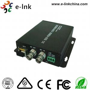 China Multimode Sdi Video Converter To Fiber Optic Converter 300 Meters Distances on sale
