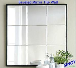 China Декоративная неправильная форма отбирала кромку плитки зеркала/отбиранное кромку декоративное зеркало on sale