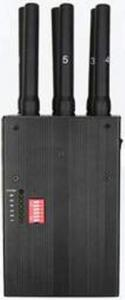 China GPS + WIFI + 3G Portable Cell Phone Jammer / Blocker EST-808HI For School on sale