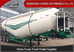 China 30Tons Vacuum tire optional dry used bulk cement tanker truck trailer on sale