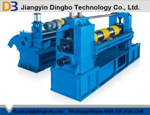 Quality Hydraulic Hot Roll Mild Steel Simple Coil Slitting Machine With 380V / 3PH / for sale