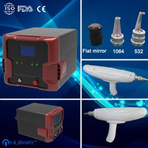 China Portable 1064nm 532nm nd yag laser pulsed dye laser with CE on sale