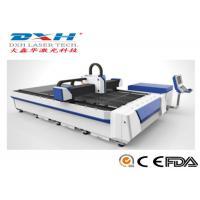 China 3 Axis CNC Laser Pipe Cutting Machine , Sheet Metal Laser Cutting Machine Horizontal on sale