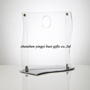 China elegant acrylic  countertop poster holder on sale