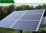 High Salt Mist Resistant PV Solar Panels High Transmission Tempered Glass