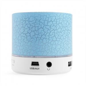 China LED Lighting Portable Wireless Bluetooth Speakers Battery Operated Mini Stereo System on sale