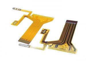 China Customized Flexible LCD Display FPC PCB 0.2mm 2 Layer PI Material Flexible Board on sale