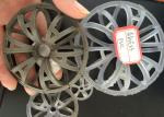 PP PVDF PVC CPVC Plastic Random Packings Plastic Tellerette Rosette Ring Tower Packing