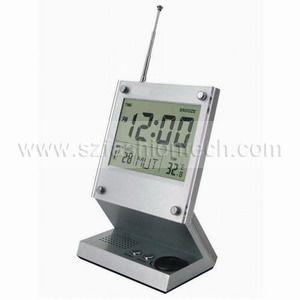 China FM auto scan radio with calendar on sale