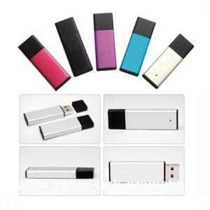 China colorful alu promotional usb pen drive on sale