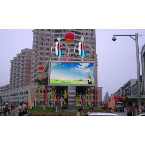 China 1 / 4 Scan High Definition Outdoor Led Advertising Billboard Waterproof 10000 dot / m2 supplier