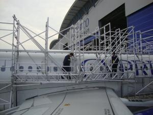 Professional Frame Tower And Ring Lock Aircraft